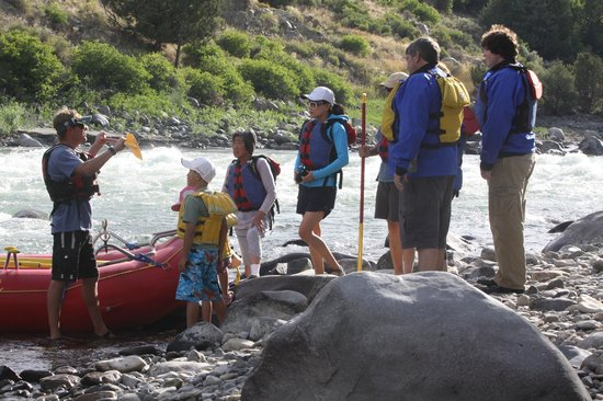 Wild West Rafting : Any size or age can do this,