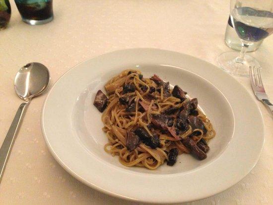 Soeta: Spaghetti ao funghi