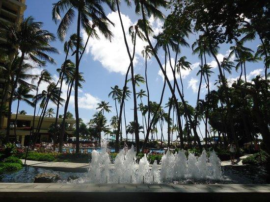 Hilton Hawaiian Village Waikiki Beach Resort Pool And Fountain