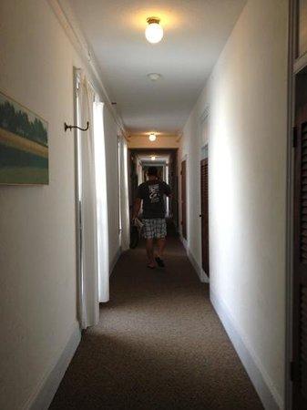 The Chalfonte: hallway