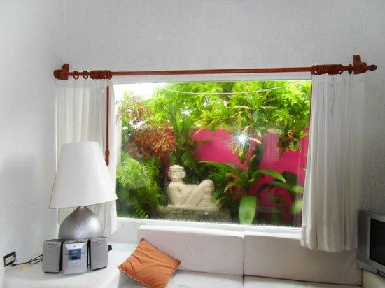 Villas Las Anclas: Living room garden
