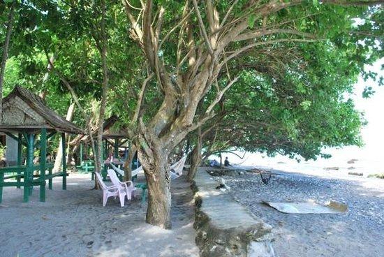 Savo Sunset Lodge: Beach front area