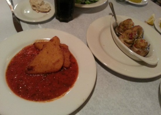 Giovanna's Italian Kitchen: Appetizers - Mozzarella Wedges and Stuffed Mushrooms