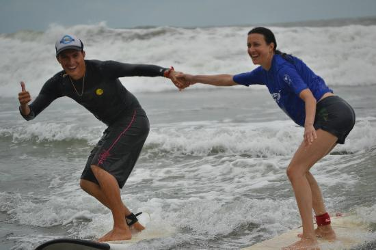 Rancho Pacifico : Surfing!  Ask for Tito at Uvita Surf Camp