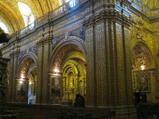Iglesia de La Compania de Jesús: Interior de la Iglesia