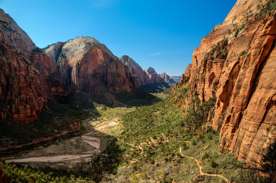 Zion's Main Canyon