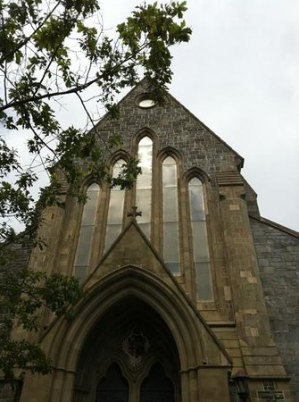 Anglican Cathedral  of St. John the Baptist: outside
