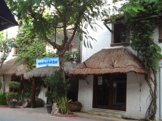 Hotel Boutique Posada Mariposa: Fachada