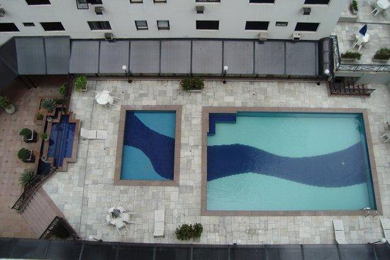 EZ Aclimacao Hotel: vista das piscinas