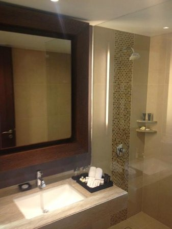 Sun Island Hotel Kuta: Bathroom (opted for no bath)