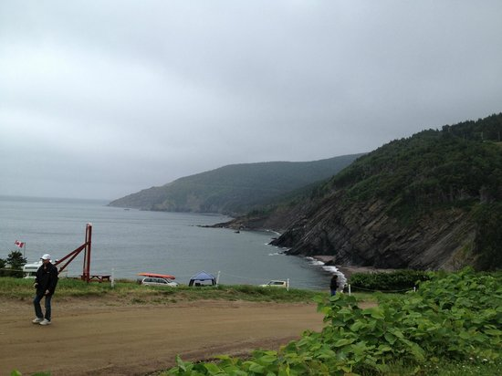 From Meat Cove