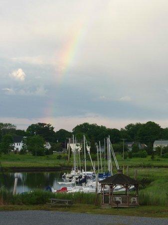 Indian River Marina : Beautiful rainbow after a beautiful day!