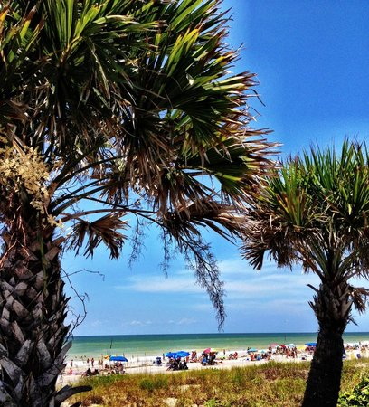 Englewood Beach: A view from the boardwalk