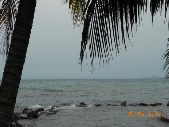 Sri Sentosa Chalet : sea view
