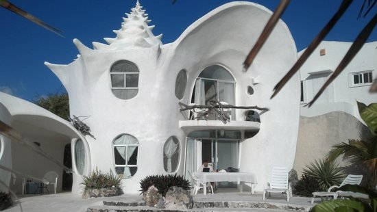 The Shell house 사진