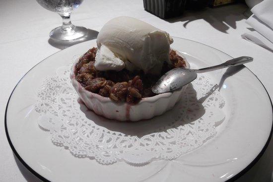 The Oregon Grille: Seasonal Crisp - Turtle Cherry Crisp