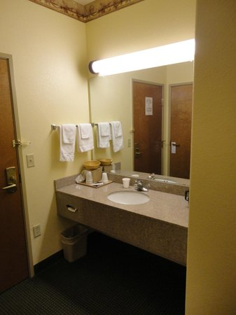 Quality Inn & Suites: Bathroom Sink