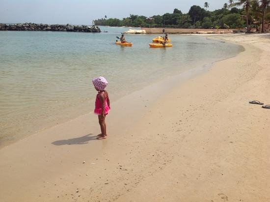 Coco Reef Resort & Spa Tobago: safe for two year old