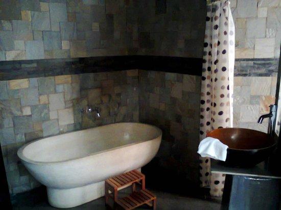 Amara Spa: Take a shower or a bath before
