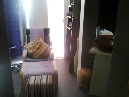 Amara Spa: Relax for a moment after your massage