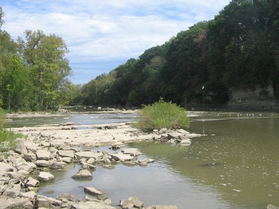 Fremont, OH: Sandusky River below the Dam