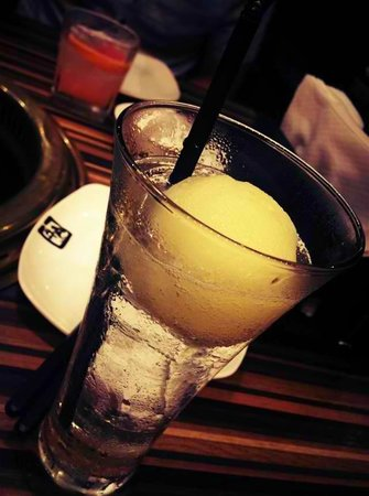 "Gyu-Kaku Japanese BBQ Restaurant: ""soda with ice cream"""