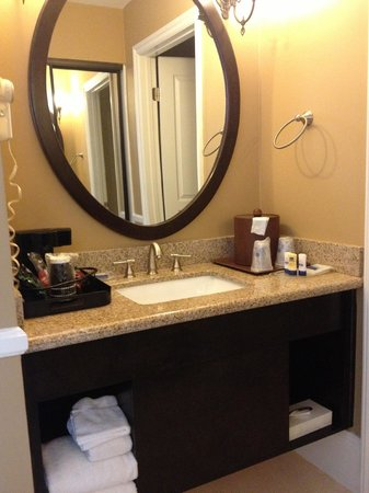 BEST WESTERN PLUS San Pedro Hotel & Suites: Sink Area