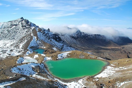 Snowy Waters - The Old Nurses Home : Tongariro Alpine Crossing