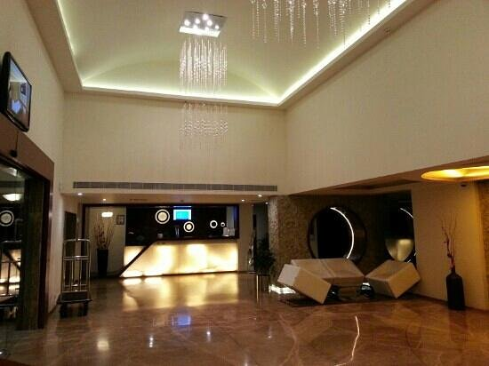 Flora Airport Hotel: lobby