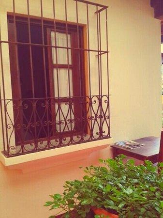 Hotel Palacio Chico 1940: window of my room