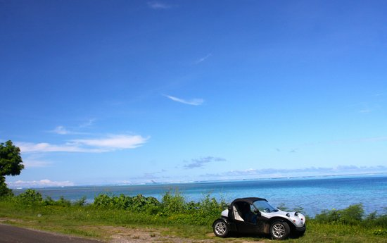 Moorea Fun Roadster: The best way to discover Moorea