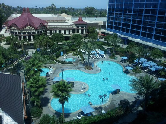 Never Too Old For The Slides Picture Of Disneyland Hotel Anaheim Tripadvisor