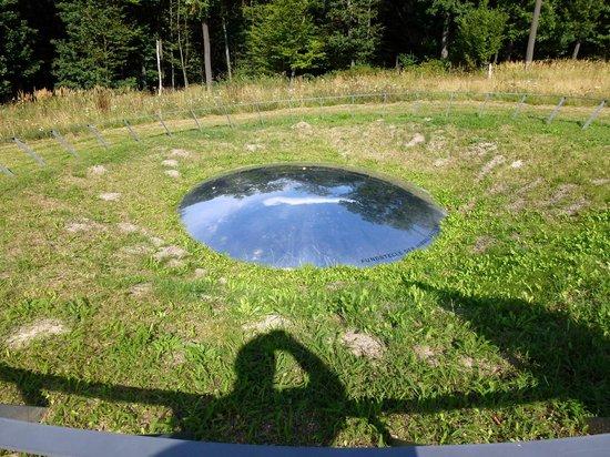 Arche Nebra : Fundort der Himmelsscheibe Mittelberg
