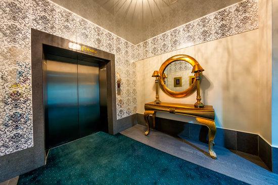 Boutique-Hotel Khabarovsk City: Зеркало