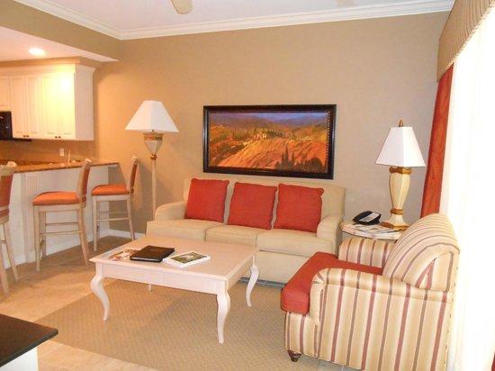 Bellasera Resort: living area