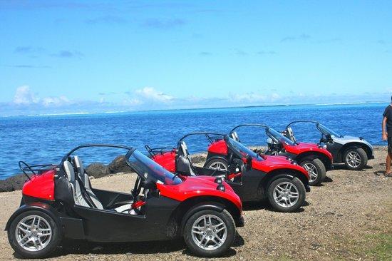 Moorea Fun Roadster: LES CHEVEUX AU VENT