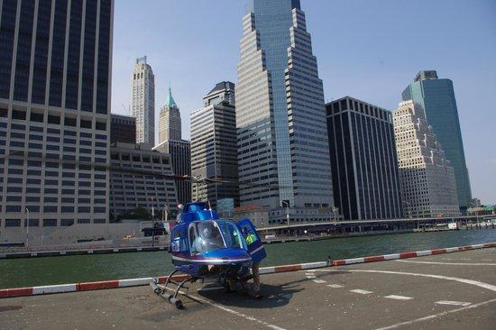 Manhattan Helicopters : Atterraggio morbido
