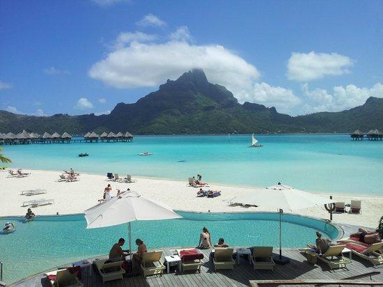Bora Bora, Franska Polynesien: Domina a paisagem