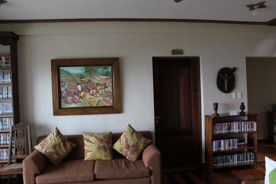 Amarela Resort : Library area