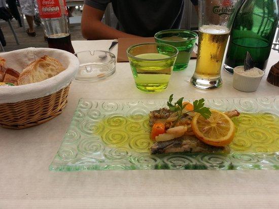 Cafe de la Cale : les sardines