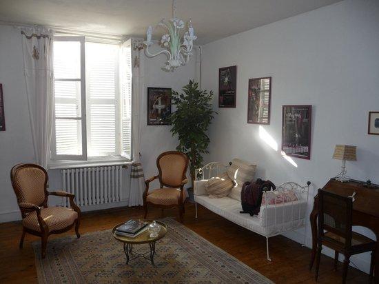 La Lucasserie : Suite familiale: chambre double lit