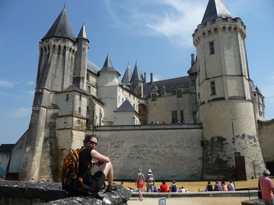 La Lucasserie: Château de Saumur