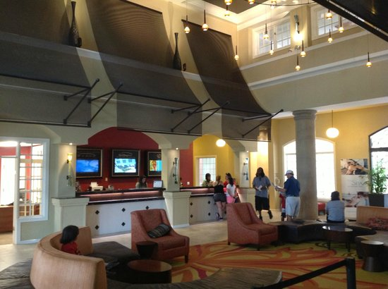 Marriott's Grande Vista: Main lobby area