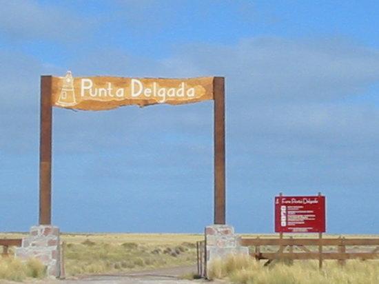 Punta Delgada Lighthouse: Entry to Punta Delgada