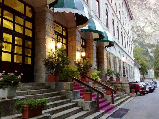 Valdieri, Ιταλία: Ingresso Hotel Royal