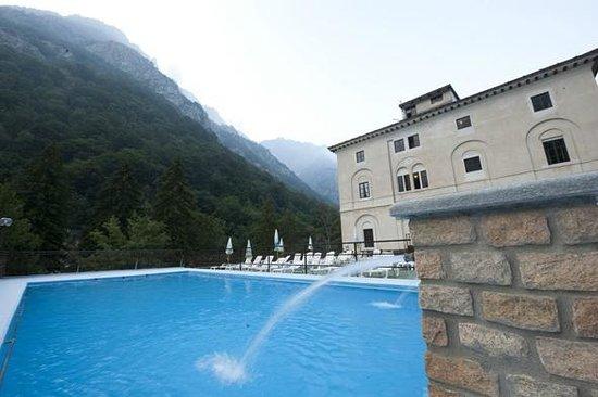 Hotel Royal Terme di Valdieri: Piscina termale riservata ai clienti dell'hotel Royal