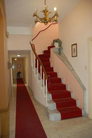 Hotel Liberta : corridoio