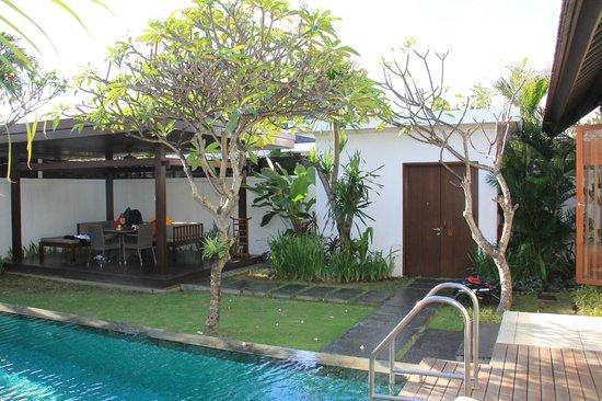 The Samaya Bali Seminyak : Jardin privé