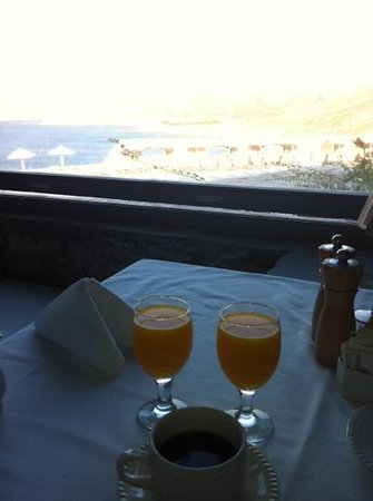 Royal Myconian Resort & Thalasso Spa Center: breakfast view