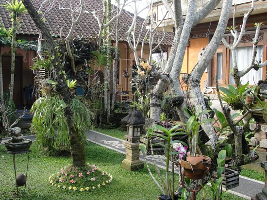 Teba House Ubud Guest House : giardino